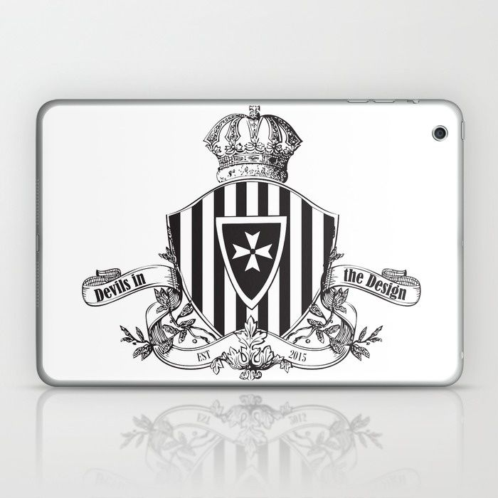 Devil's In The Design - Limited Edition Laptop & iPad Skin