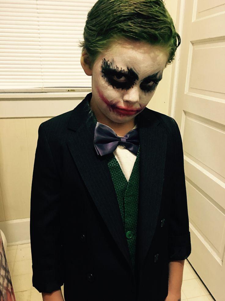 #halloween2017 #joker #costume #kidscostume #batman