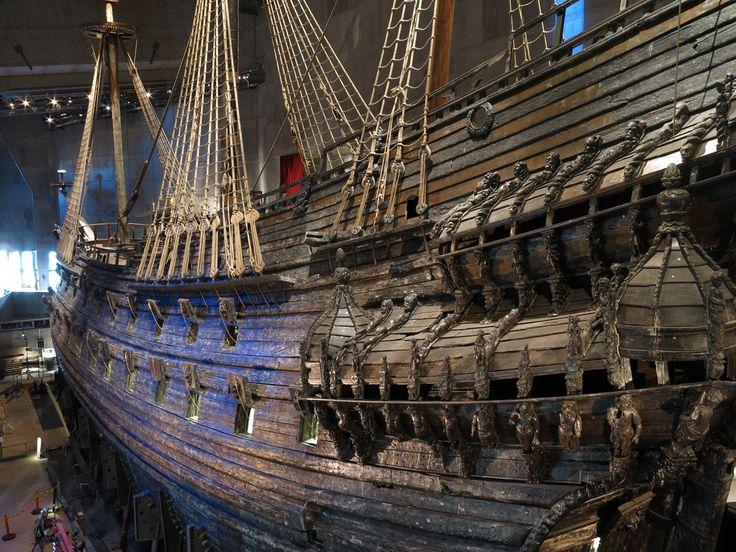 Vasa Ship, Vasa Museum (Sweden)--been there!!!