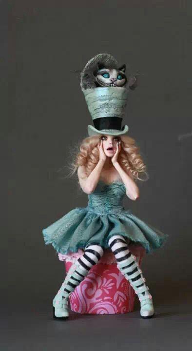 Das ist einfach ein hammer Kostüm! Alice und die Grinsekatze!