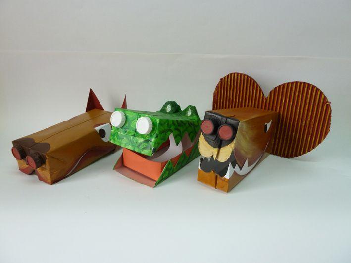 MASCOTAS Realizadas con envases tetra-brick