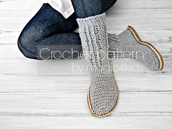 MAKE THESE BEAUTIFUL BOOTS FOR YOU IN YOUR FAVORITE COLORS OR AS GIFTS FOR ANY OCCASION TO YOUR FAMILY MEMBERS OR FRIENDS. THESE BOOTS WILL BE YOUR FAVORITE SLIPPERS BECAUSE THEY KEEP YOUR FEET WARM AND COZY. IN CONCLUSION: YOULL NOT WANT TO TAKE THEM OFF. THE JUTE ROPE SOLES ARE RIGID AND