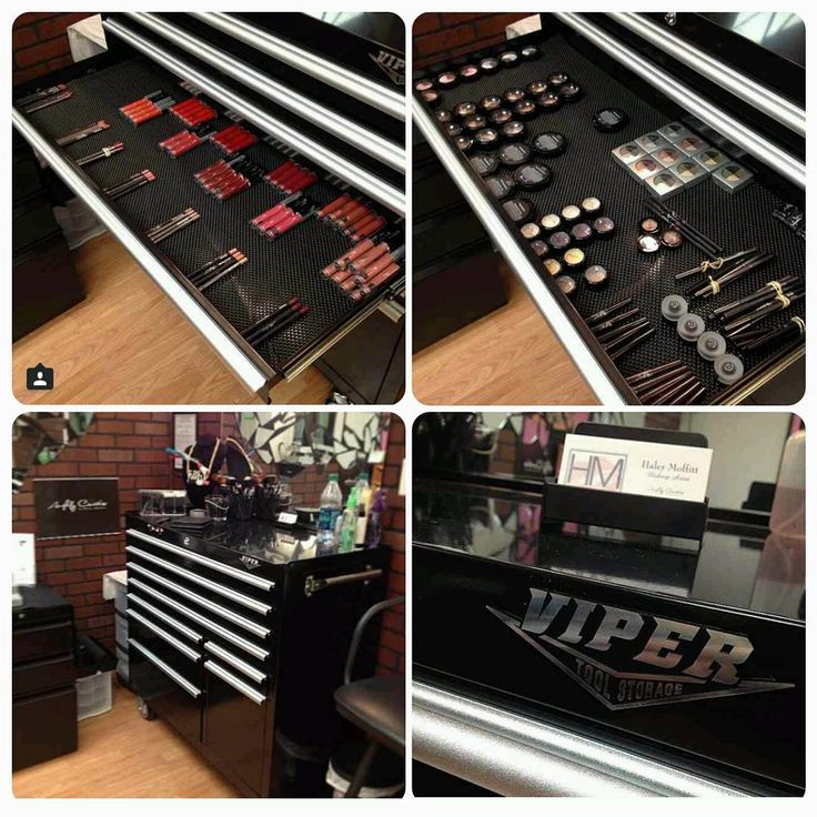 Haley Moffitt Of HM Makeup Artistry, LLC Uses A Black Viper Tool Storage 41