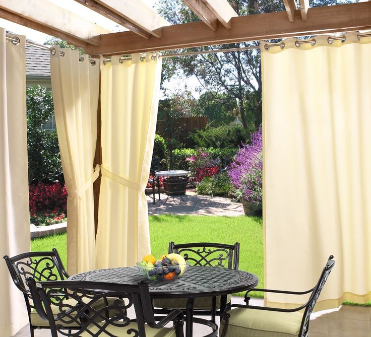 Gazebo Outdoor Curtains In Natural 70315 109 103