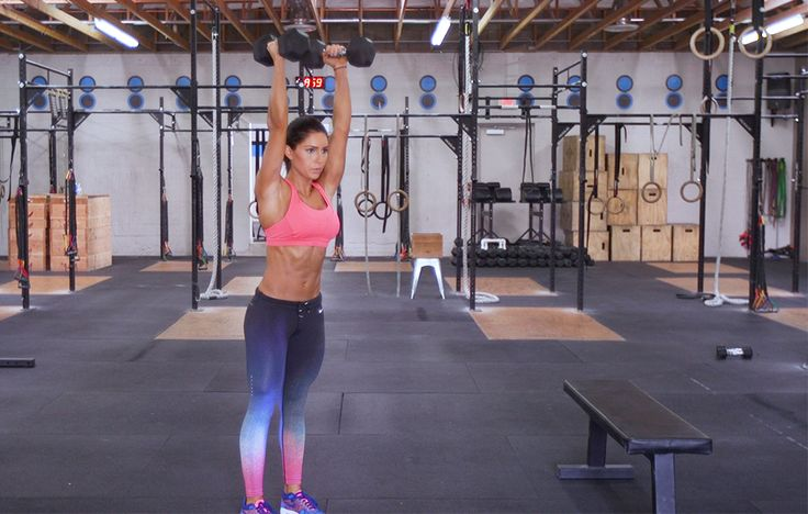This workout will rock your core and shoulders while vaporizing fat