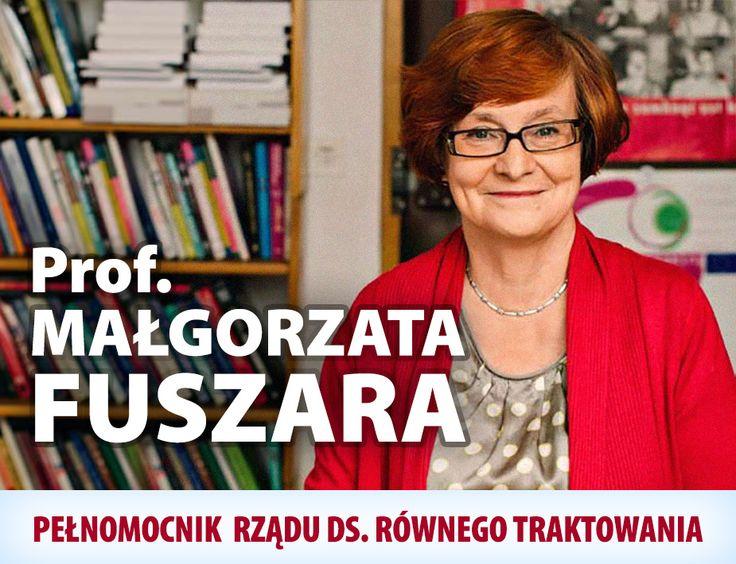 Prof. Małgorzata Fuszara zastąpiła Agnieszkę Kozłowską-Rajewicz na stanowisku Pełnomocnika Rządu ds. Równego Traktowania. Gratulujemy i życzymy owocnej pracy!