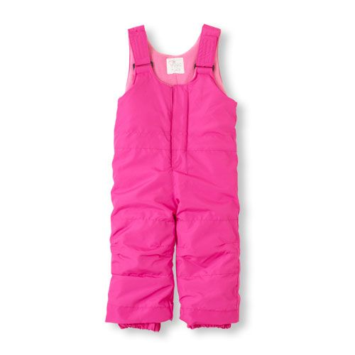 The do-it-all snow overalls she needs for sledding, skiing or playing in the elements!