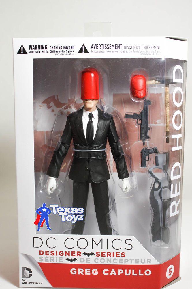 DC Comics Designer Series 2 RED HOOD Figure Collectibles new 52 Capullo #DCComics