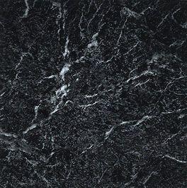 Nexus Black with White Vein Marble 12 x 12 Vinyl Floor Tile