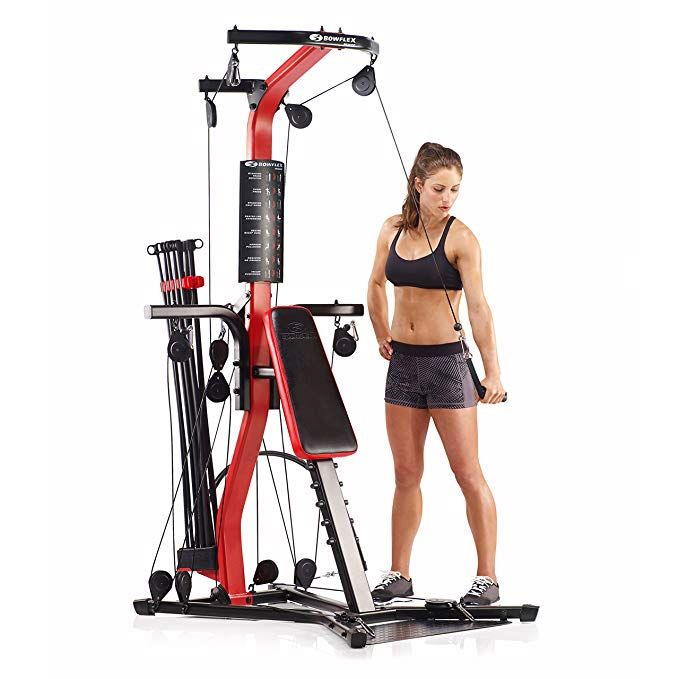 Bowflex Pr3000 Home Gym Over 50 Strength Exercise No Cable Changes Needed Between Sets Free Scheduled Delivery At Home Gym Bowflex No Equipment Workout