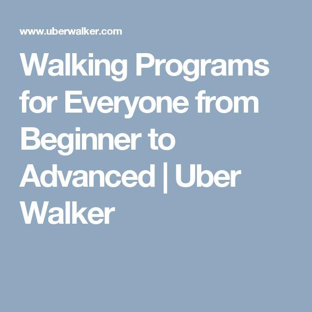 how to start a walking program