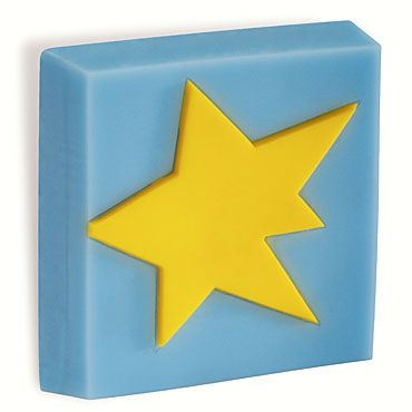 Childrens star cabinet handle made from a durable plastic!  #SALE
