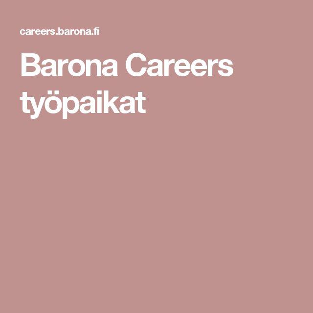 Barona Careers työpaikat