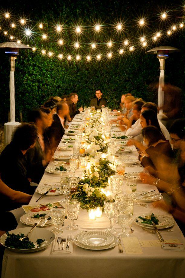 Best 25 Outdoor Dinner Parties Ideas On Pinterest