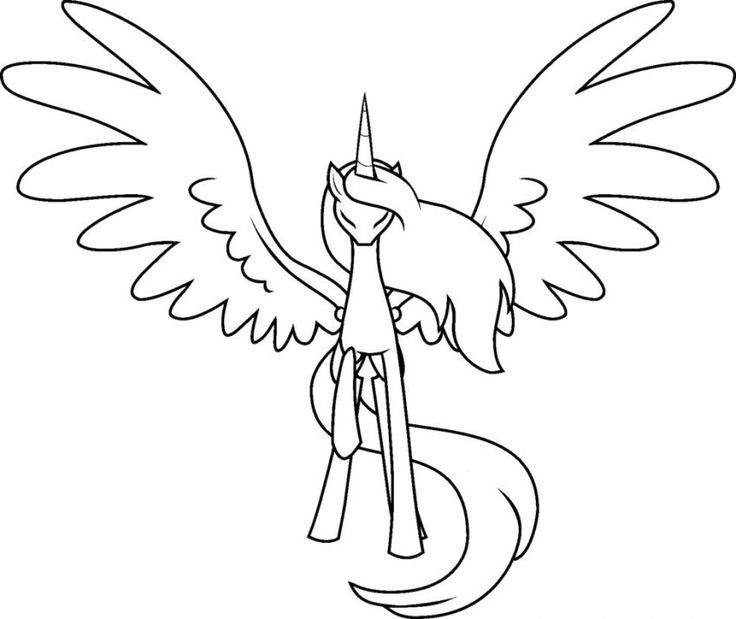 My Little Pony Coloring Pages Alicorn Alicorn Coloring Pages Pony Cartoon Coloring Pages My Little Pony Drawing My Little Pony Coloring Pony Drawing
