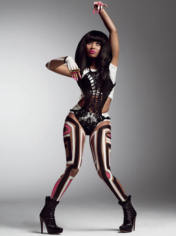 Nicki-Minaj - v magazine