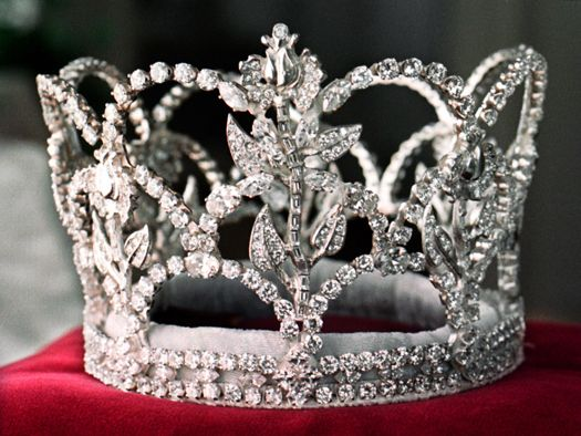 This Crown Below Was Commissioned For The 75th Rose