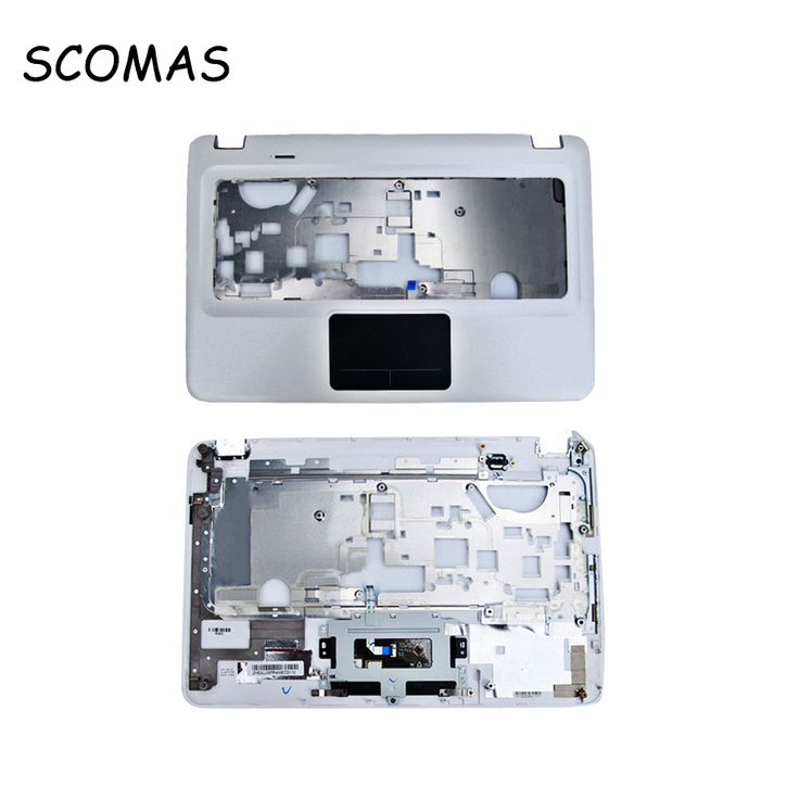 SCOMAS Stock Promotion Laptop Top Cover for HP Pavilion DV6 3000 White C Case Palmrest or C Cover Keyboard Shell with Touchpad