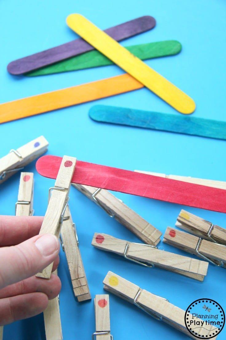 color games kindergarten : Color Matching Activity For Kids