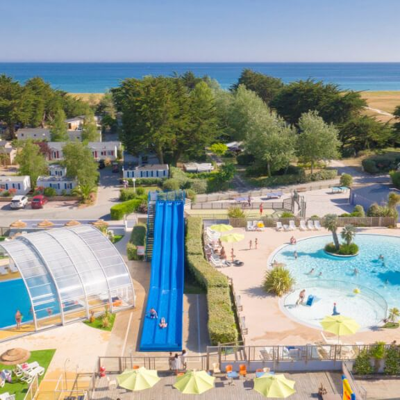 Yelloh! Village La Plage is a fun-packed family campsite with direct access to a superb sandy beach. Great family camping holidays in Brittany.