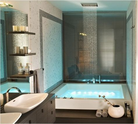oltre 25 fantastiche idee su bagni moderni su pinterest | bagno ... - Bagni Con Vasca Moderni