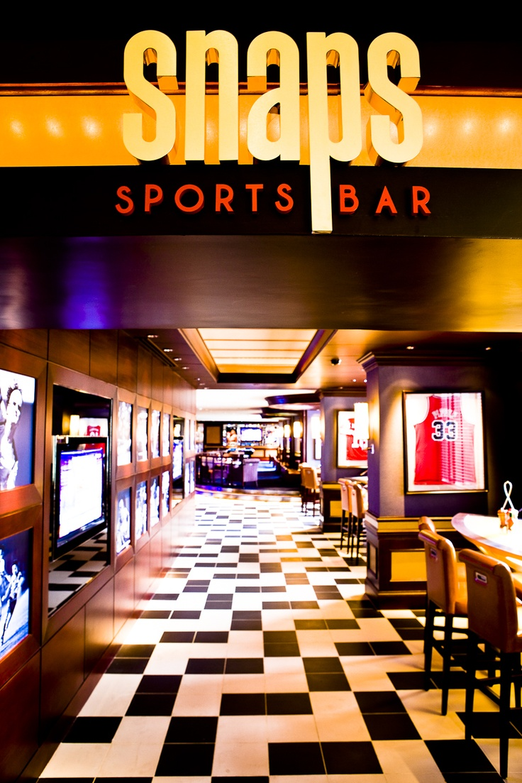 Snaps is Sofitel's newly opened sports bar, designed with sports fans in mind.