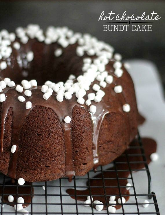 Chocolate Creme Bundt Cake