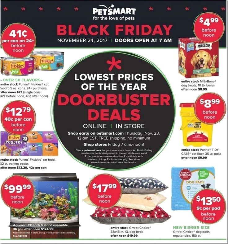 Tps Header The Petsmart Black Friday Doorbusters Ad Recently Surfaced Online And Features Deals Perfect For All Of You Black Friday Ads Black Friday Petsmart