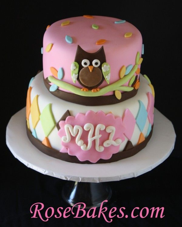 Google Image Result for http://rosebakes.com/wp-content/uploads/2012/02/Whoo-Loves-You-Owl-Baby-Shower-Cake-2-e1328294332623-600x745.jpg
