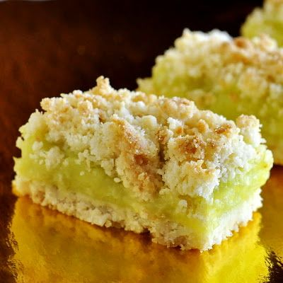 Coconut Lime Crumble Bars