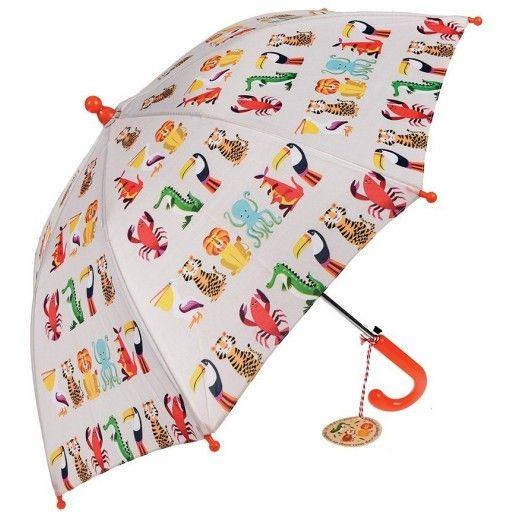 Paraplu kleurrijke dieren, Rexinter