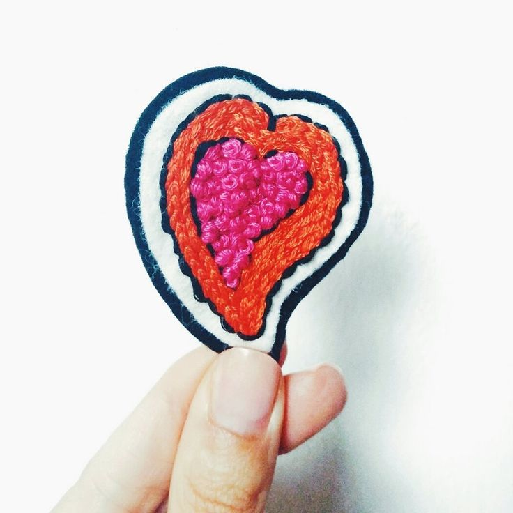 Make your own hand embroidered patch to decorate your jacket, jeans or backpack. 7 step tutorial, sign up for free beginners stitch videos