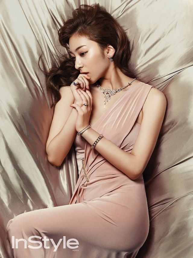 Wang Ji Won for InStyle magazine September Issue '14