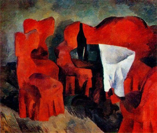 Фальк Р.Р. – Красная мебель. 1920