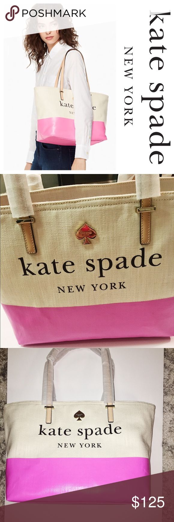 Kate spade Lott street Francis tote This is absolutely darling! I almost don't want to sell!  NWT Kate spade tote , orders from website . See measurements in last picture kate spade Bags Totes