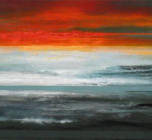 """""""Moon Tides 1"""" - by Bee Doughty-Pratt"""