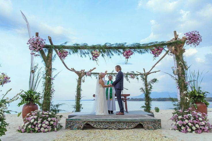 Beautiful Wedding at Hotel Tugu Lombok