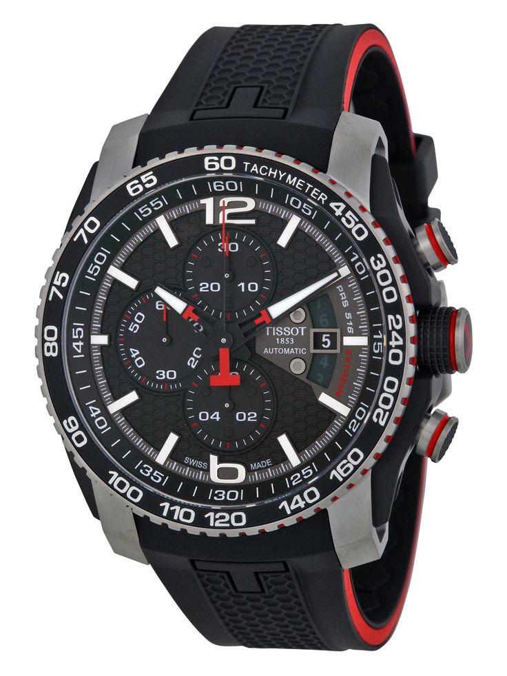 Tissot Men's PRS 516 Chronograph Stainless Steel Watch  NZ$1,695.00 Gilt (incl. Duties and GST)