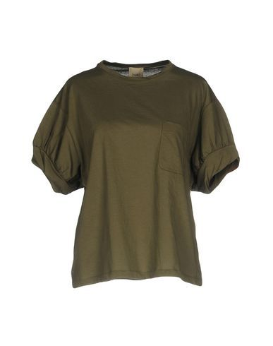 NUDE Women's T-shirt Military green 6 US
