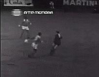 Grande finta de Mário Coluna, que deu em Golo para o Benfica - Benfica vs Real Madrid (Champions League 1962)