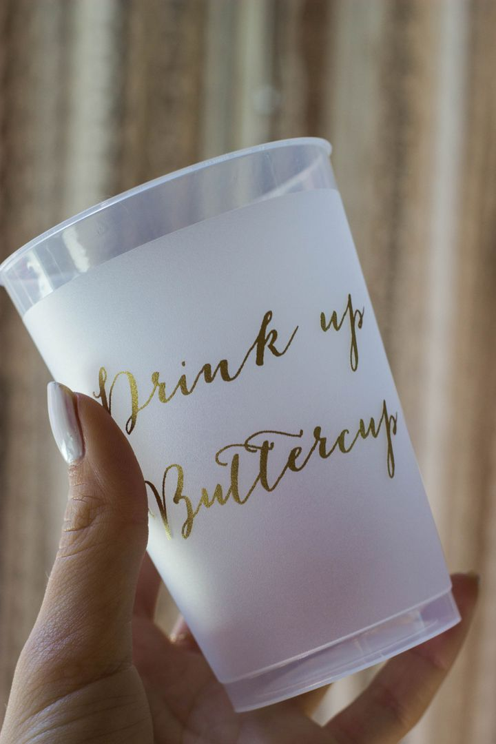 drink up buttercup!