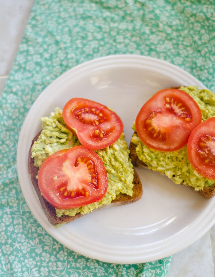Avocado Egg Salad | My Plate | Pinterest