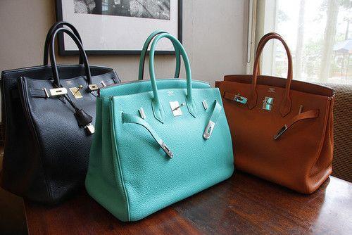 The Birkin bag.. one day I'll own one.