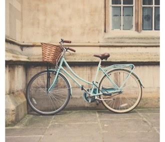Mint Green Bike//