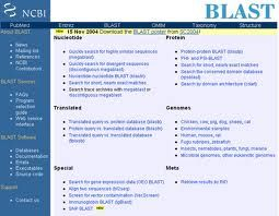 BLAST (Basic Local Alignment Search Tool)  es una base de datos de Genética del National Center for Biotechnology Information (NCBI) que compara secuencias de nucleótidos.
