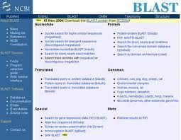 BLAST (Basic Local Alignment Search Tool)  es una base de datos de Genética del National Center for Biotechnology Information (NCBI) que compara secuencias de nucleótidos.