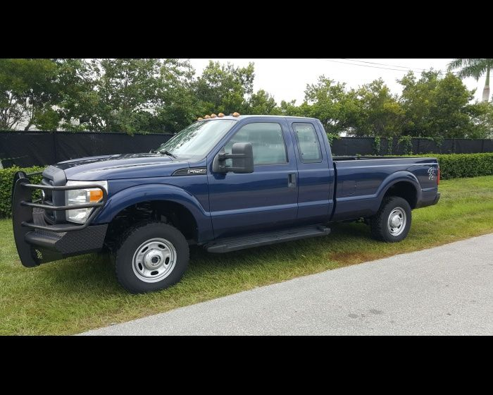 2012 FORD F250 XL SD EXTENDED CAB 4X4