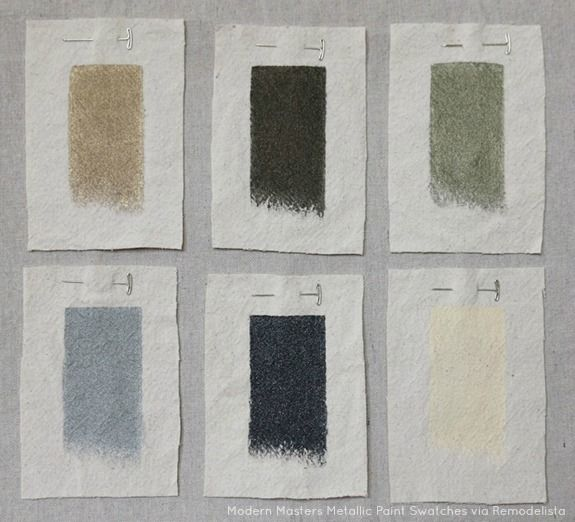 tips for working with metallic paints, diy, home maintenance repairs, paint colors, painted furniture, painting