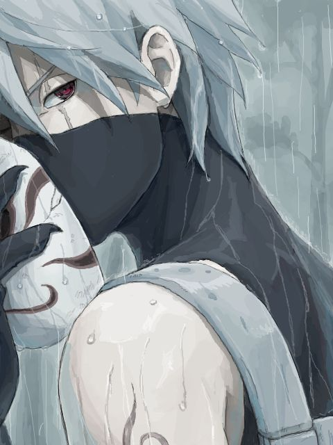 Kakashi. NARUTO. ANIME.  Pinned from Stephy Sama