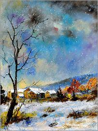 Pol Ledent - Winterlandschaft